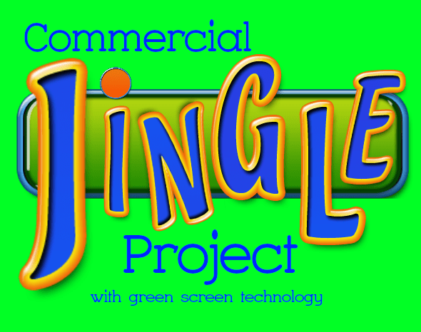 Commercial Jingle Project Using a Green Screen · just a