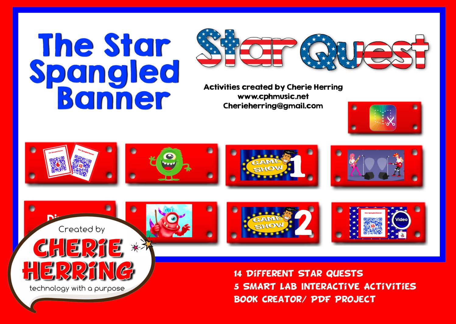 Star Spangled Banner STAR QUEST · just a little more
