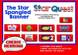 Star Spangled Banner Free SMART Resources
