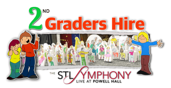 2nd Graders Hired St Louis Symphony Orchestra