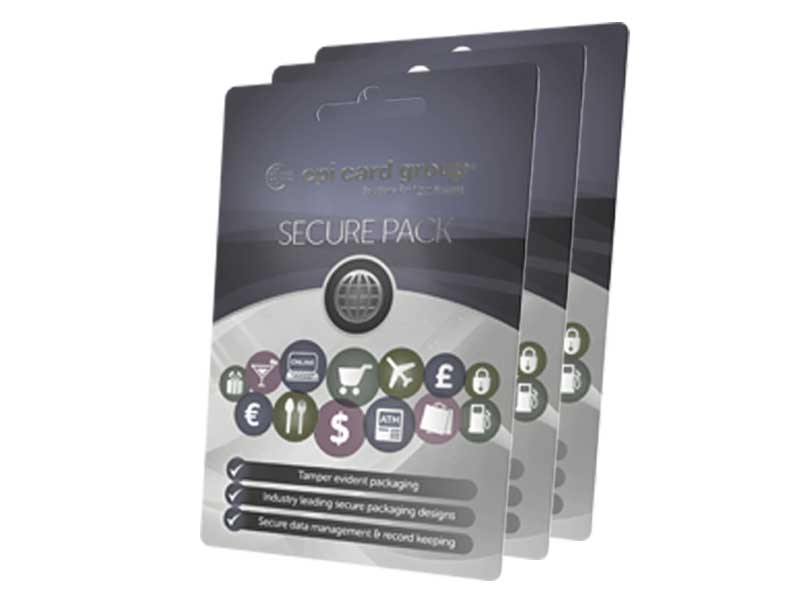 secure packaging, secure card packaging, packaging, payment card packaging, gift card packaging, gift card mailers, debit card mailing