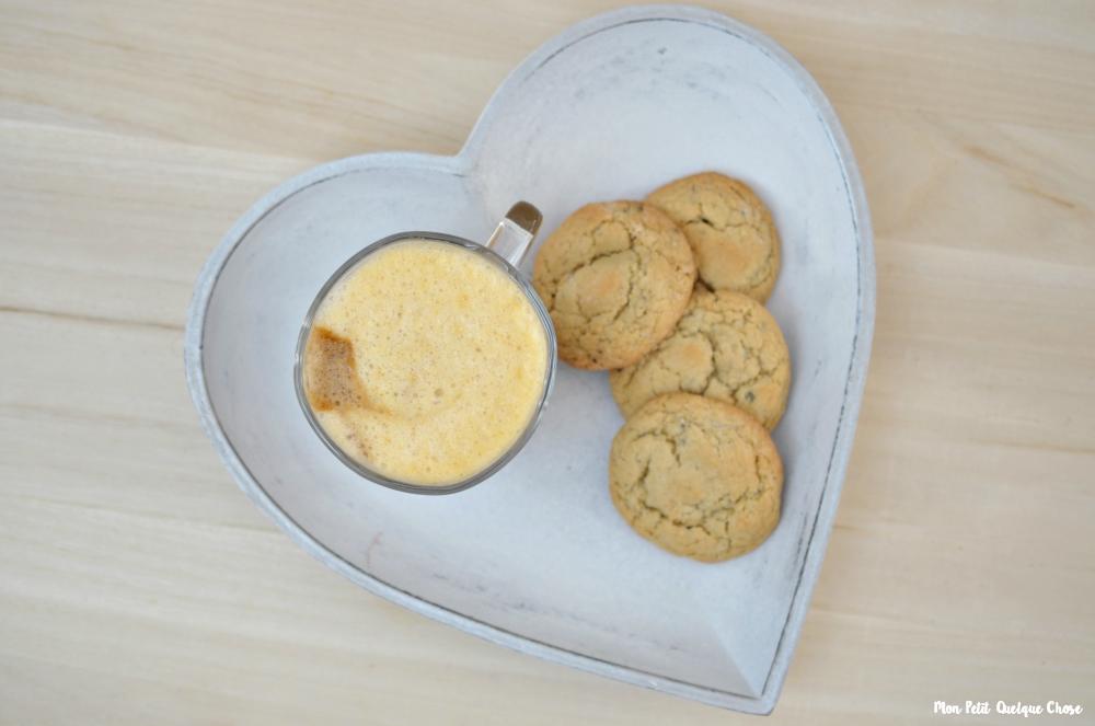 Mon Pumpkin Spice Latte revisité et Biscuits All'Italiana avec Nescafé Gold - Mon Petit Quelque Chose