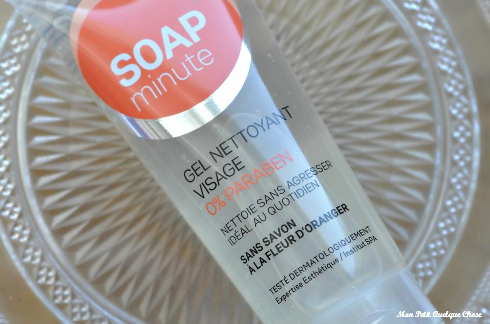 Le Gel Nettoyant Visage de Soap'Minute (Skin'minute) - Mon Petit Quelque Chose