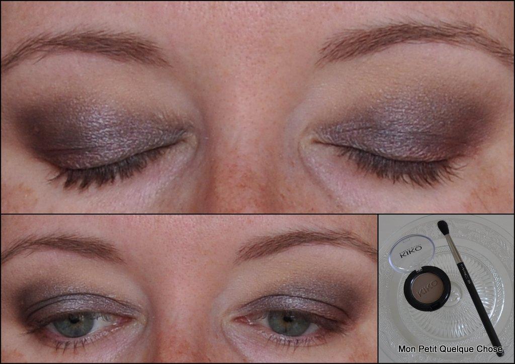 Kiko eyeshadow 122, M.A.C 224
