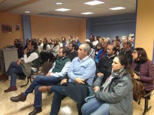 MAYENCOS.  Los socios llenaron el salón de actos del club. (FOTO: Ventura Chavarría)
