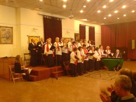 """Η χορωδία του Μουσικού Ομίλου """"Η ΑΡΜΟΝΙΑ"""" υπό τη διεύθυνση του κ. Γιώργου Σακκογιάννη"""