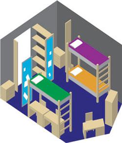 Residence Hall Floorplans