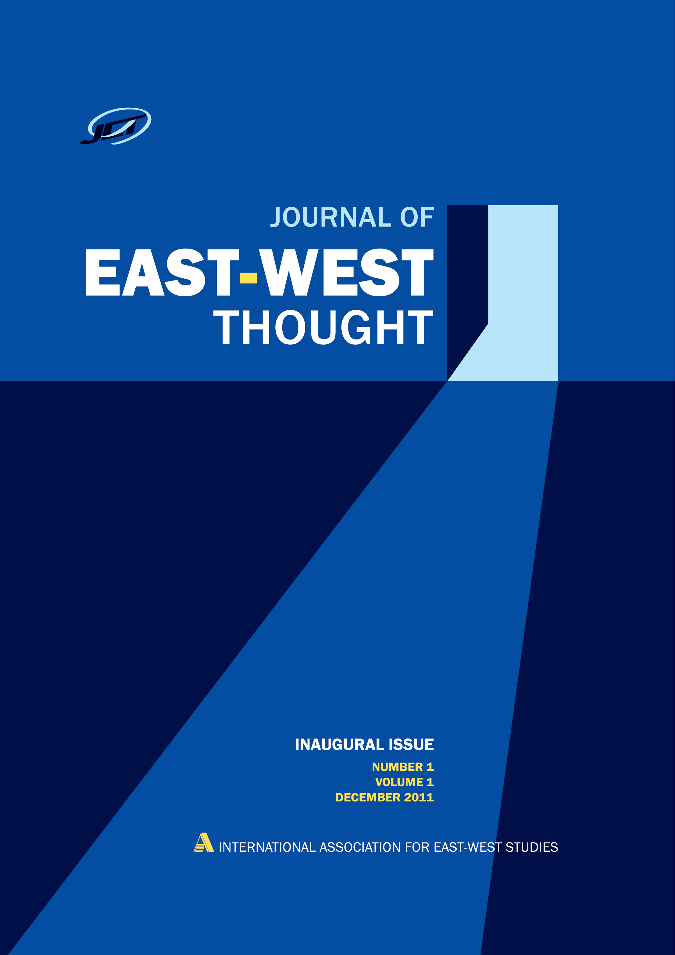 Cover image of the Journal of East-West Thought
