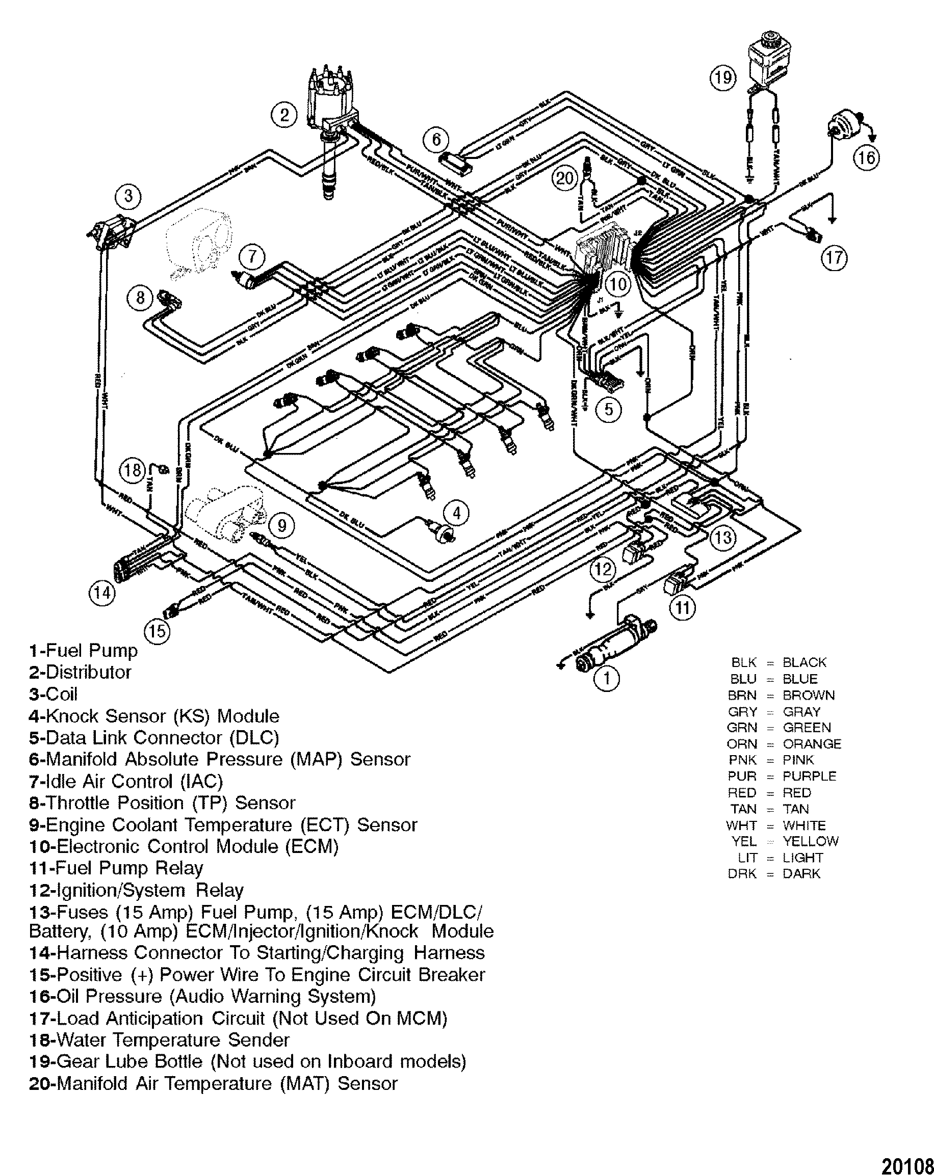 Mercruiser Wiring Diagram 5 0