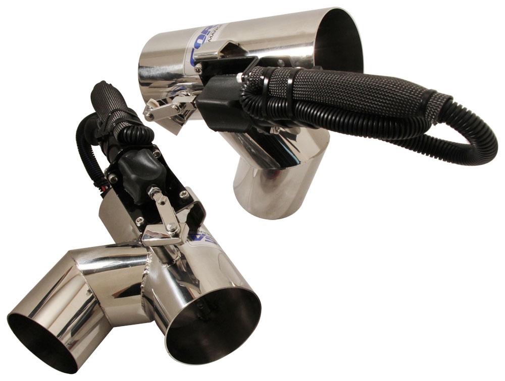 exhaust diverter systems mercruiser 4 3l v6 pre 2004