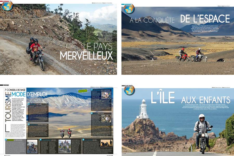 Voyages à moto magazine n°1