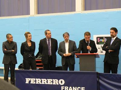 Signature du partenariat CPQ - FERRERO