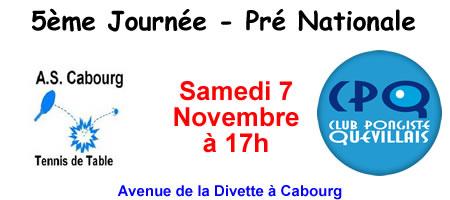 Pré Nationale Cabourg CPQ