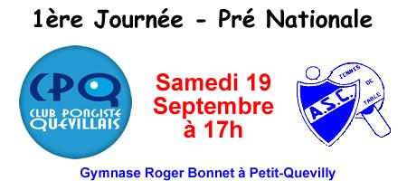 CP Quevillais - AS Cherbourg