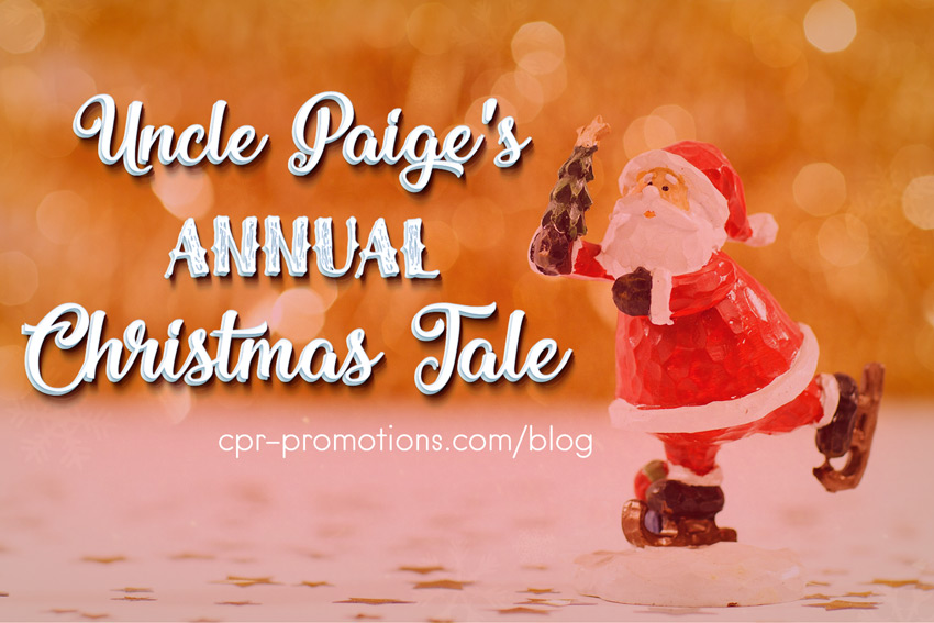 Christmas Radio Stations All Year Round.Cpr Promotions Uncle Paige S Annual Christmas Tale Cpr