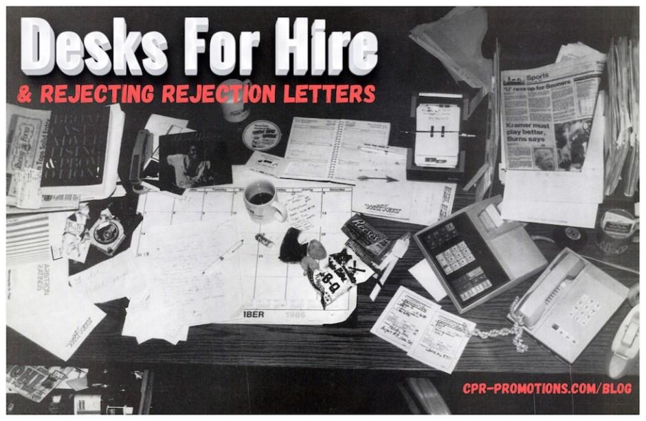 messy promotion director's desk