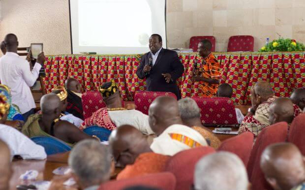 Ho House of Chiefs Community Outreach