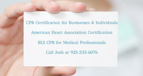 CPR certifications in Plesant Hill, CA