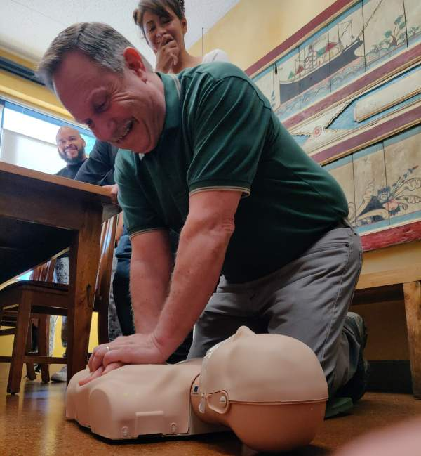 CPR/AED with First-Aid Option