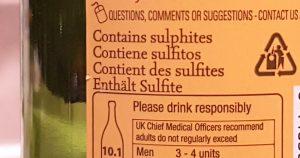 Sulphite Allergens