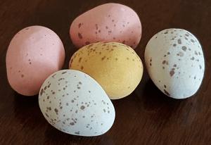 Chocolate mini Egg