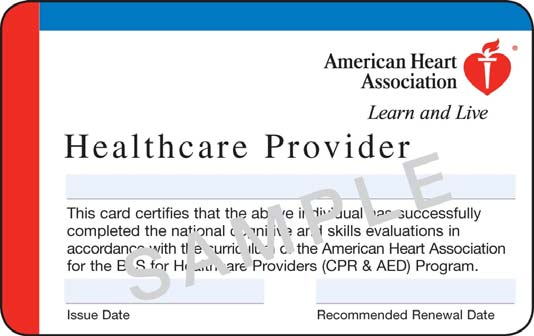 bls for the health care provider - cpr kitsap