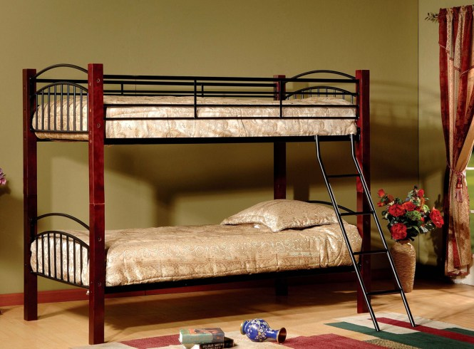Twin Over Bunk Bed Model 341 33