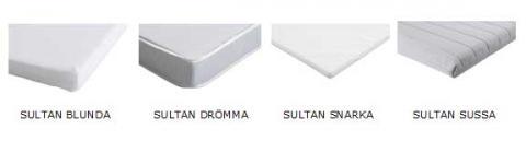 Four Models Of Ikea Sultan Crib Mattress