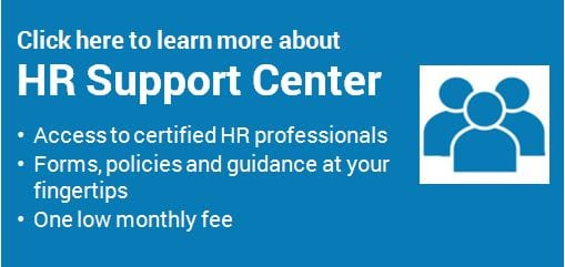 Click here to learn more about our HR Support Center