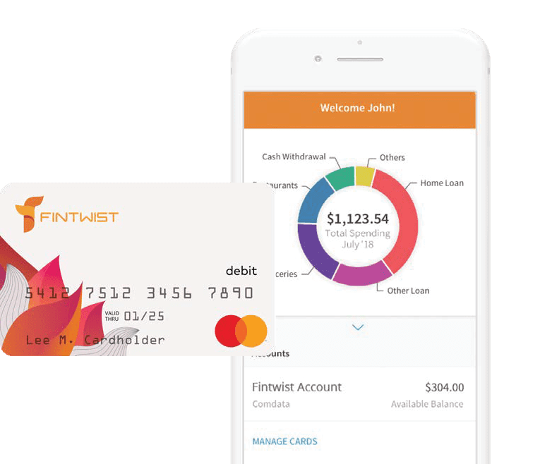 Fintwist is a Mastercard payroll card which eliminates paper checks