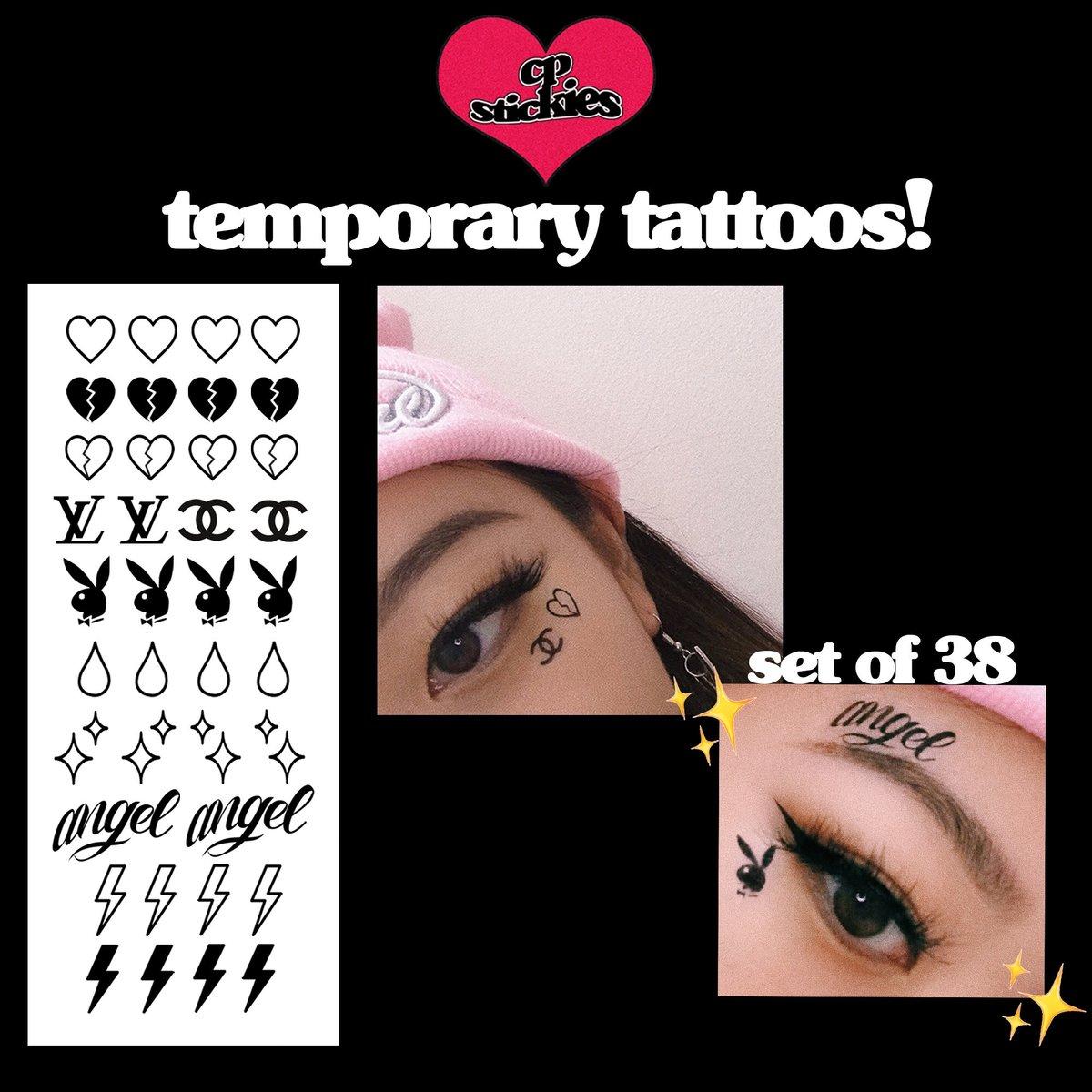 Temporary Tattoo Set 1