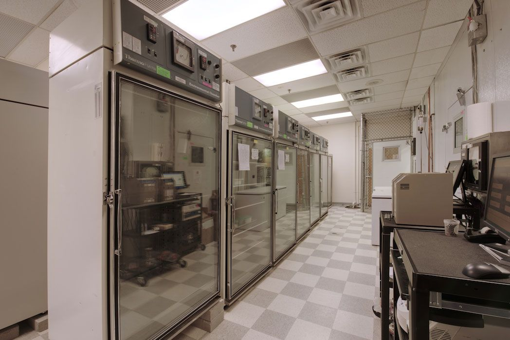 consumer product testing stability room
