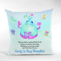 Peaceful Monster Worry Cushion