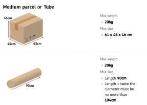 Royal Mail Size