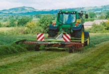Late silage making in September