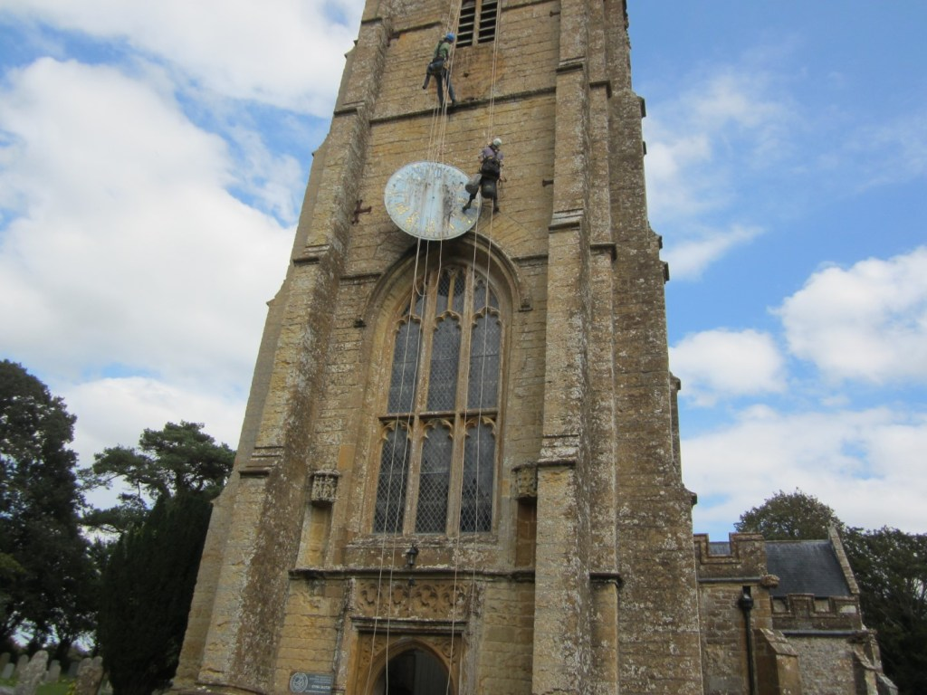 THE CLOCK FACE ON THE TOWER TO HAVE MAJOR REPAIRS