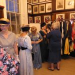 AN FASHION SHOW OF PERIOD, VINTAGE AND RETRO CLOTHING