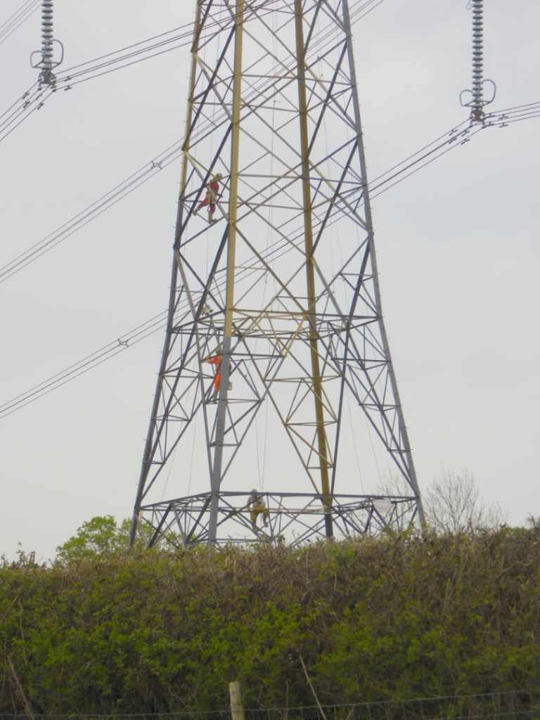 PAINTING THE PYLONS