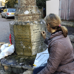 REPAINTING OF THE LETTERING AT THE WHITCHURCH WAR MEMORIAL