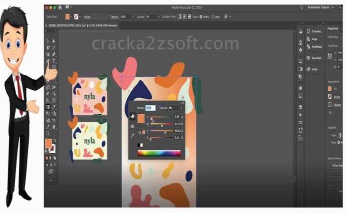 Adobe Illustrator CC screen