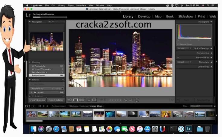 Adobe Lightroom Classic cc screen