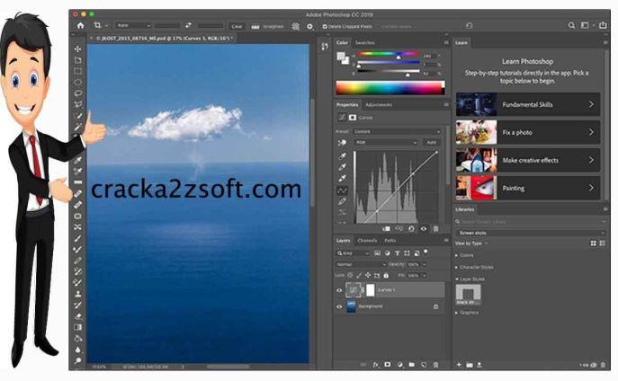 Adobe Photoshop 2021 crack screen