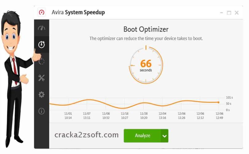 Avira System Speedup Pro screen