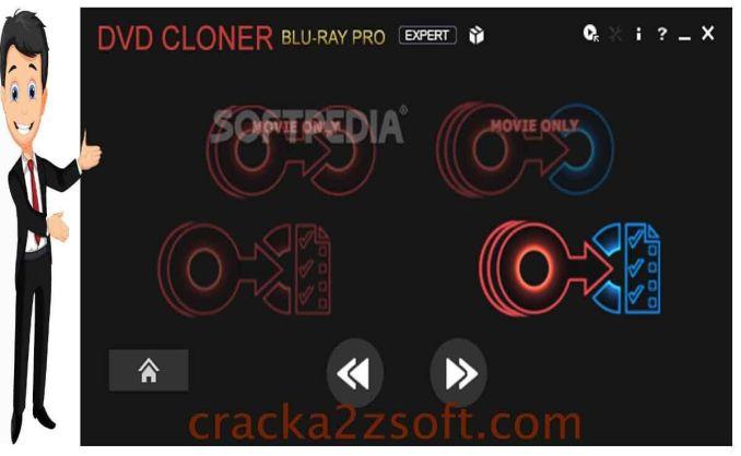 DVD-Cloner Gold screen