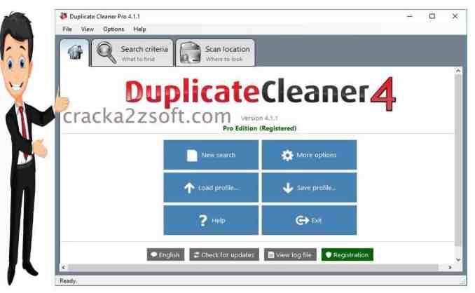 DigitalVolcano Duplicate Cleaner Pro screen