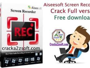 Aiseesoft Screen Recorder Crack