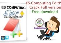 ES-Computing EditPlus crack