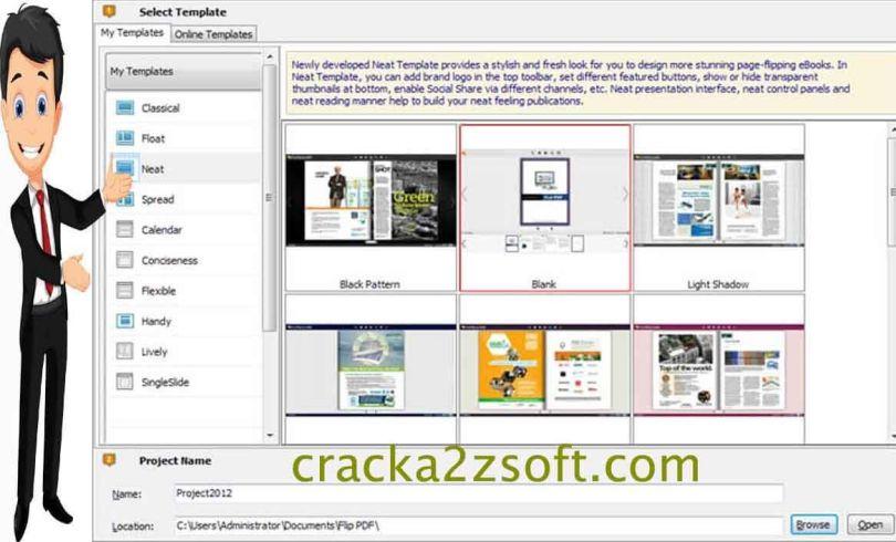 Flip PDF Corporate Edition screen