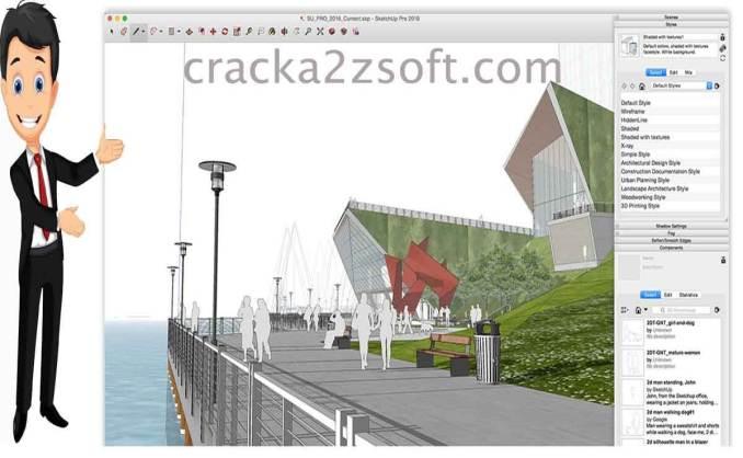 SketchUp Pro License key screenshot