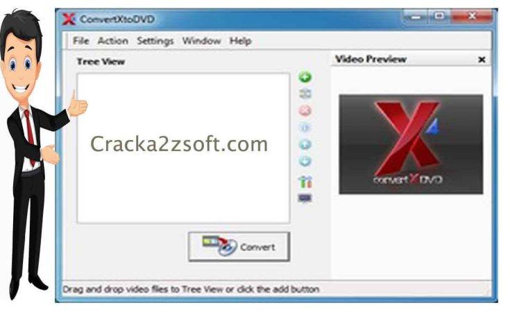 VSO ConvertXtoDVD 7 Crack Screenshot